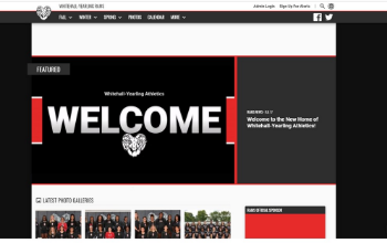 New WYHS Athletic Website