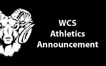 WCS Athletic Announcement
