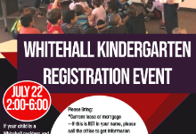Enrollment event poster