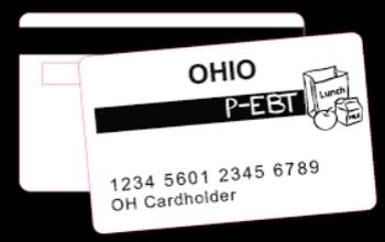 P-EBT card graphic