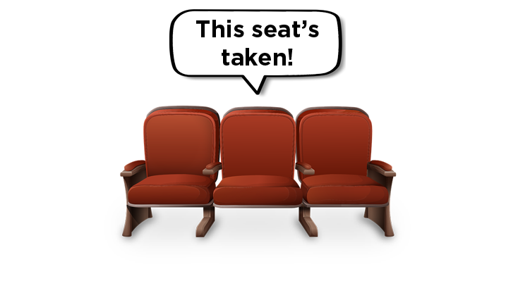 This Seat's Taken - WYHS Auditorium Fundraiser