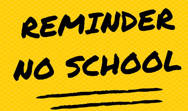 NO SCHOOL - OCTOBER 23rd, 2017