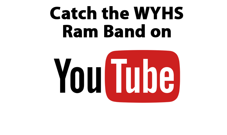 WYHS Ram Band YouTube channel
