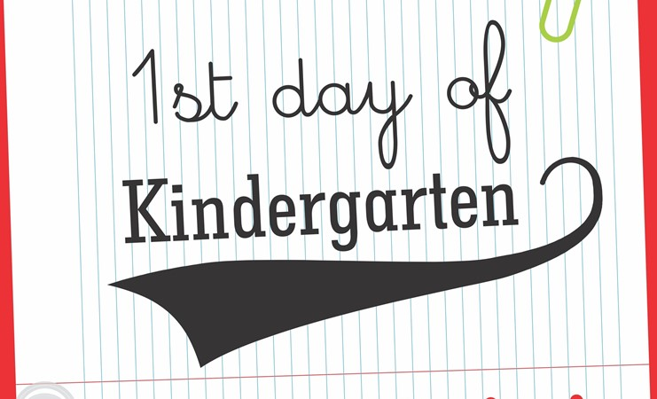 First day of kindergarten is August 28th