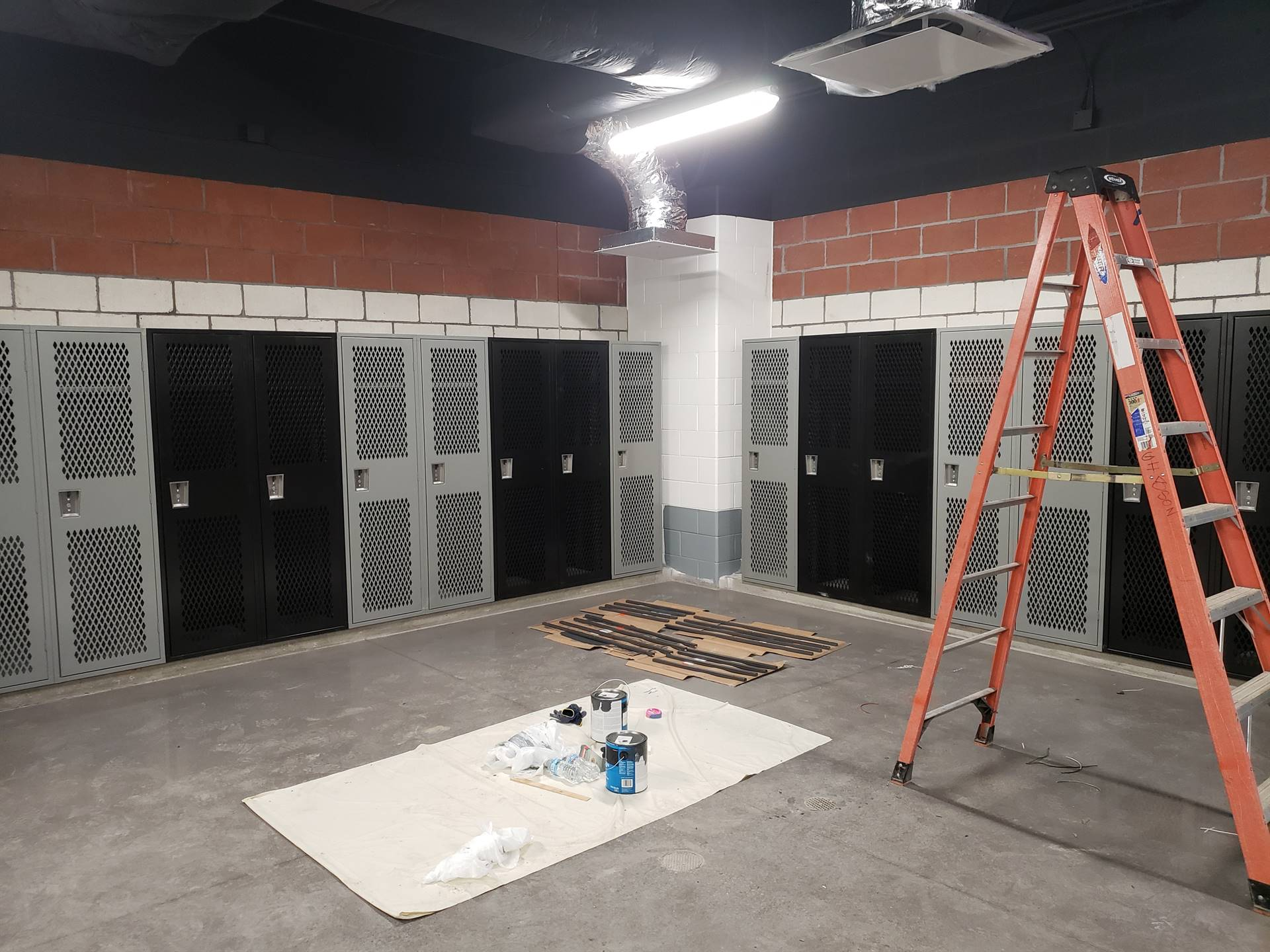 WYHS Locker Room Facility