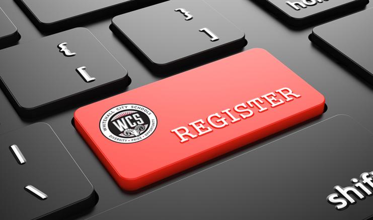 New student online enrollment portal