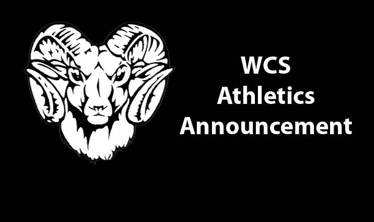 WCS Athletics Announcement