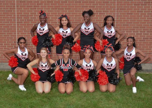 JV Fall Cheerleaders